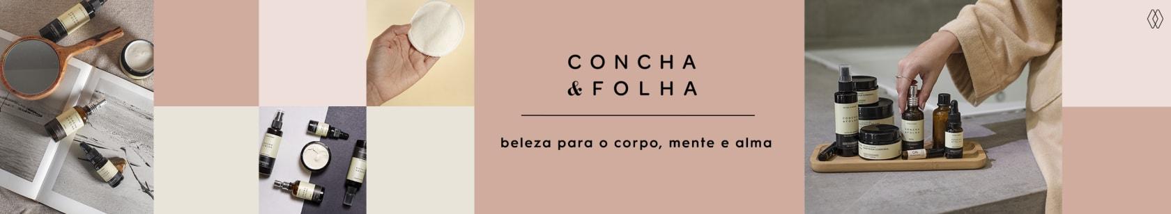 CONCHA  & FOLHA   AMARO