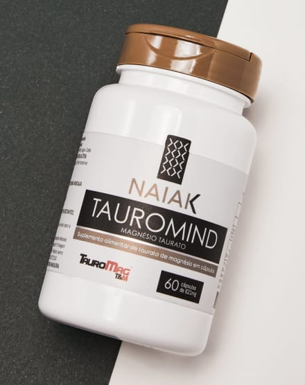 NAIAK TAUROMIND (MAGNÉSIO TAURATO) - 60 CÁPS