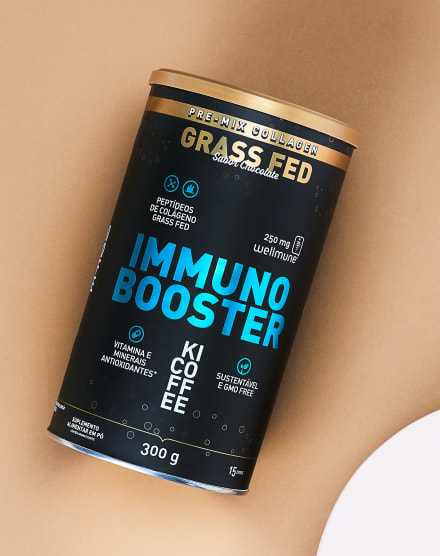 KICOFFEE SUPLEMENTO ALIMENTAR PARA IMUNIDADE IMMUNO BOOSTER