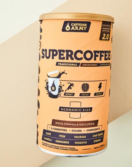 CAFFEINE ARMY SUPERCOFFEE ECONOMIC SIZE TRADICIONAL - 380G