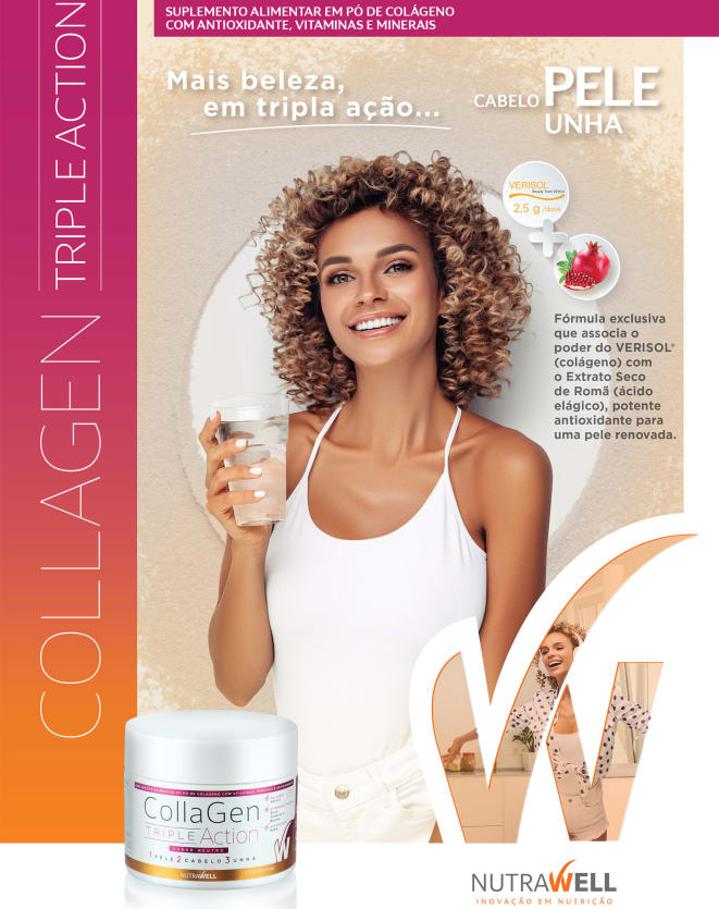 NUTRAWELL COLLAGEN TRIPLE ACTION - 150G