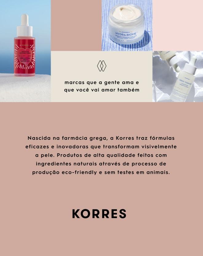KORRES CREME FACIAL DE CONTROLE DE OLEOSIDADE POMEGRANATE - 40ML