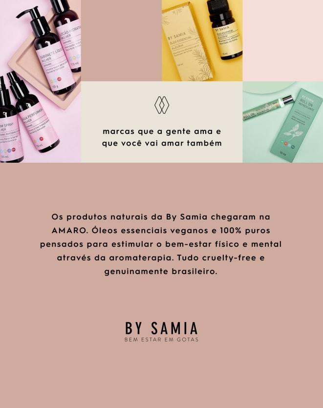 BY SAMIA ÓLEO PARA BANHO E MASSAGEM - 110ML