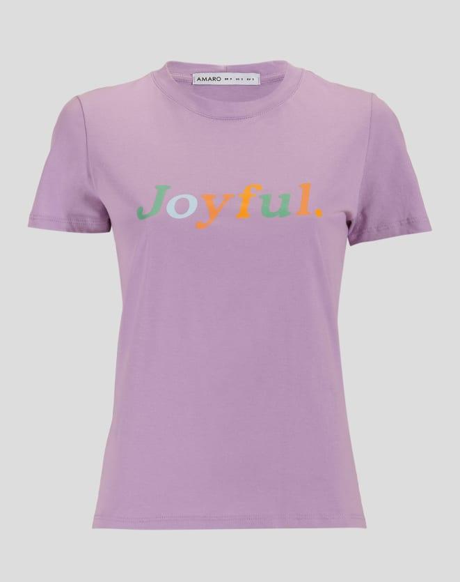T-SHIRT JOYFULL COLOR