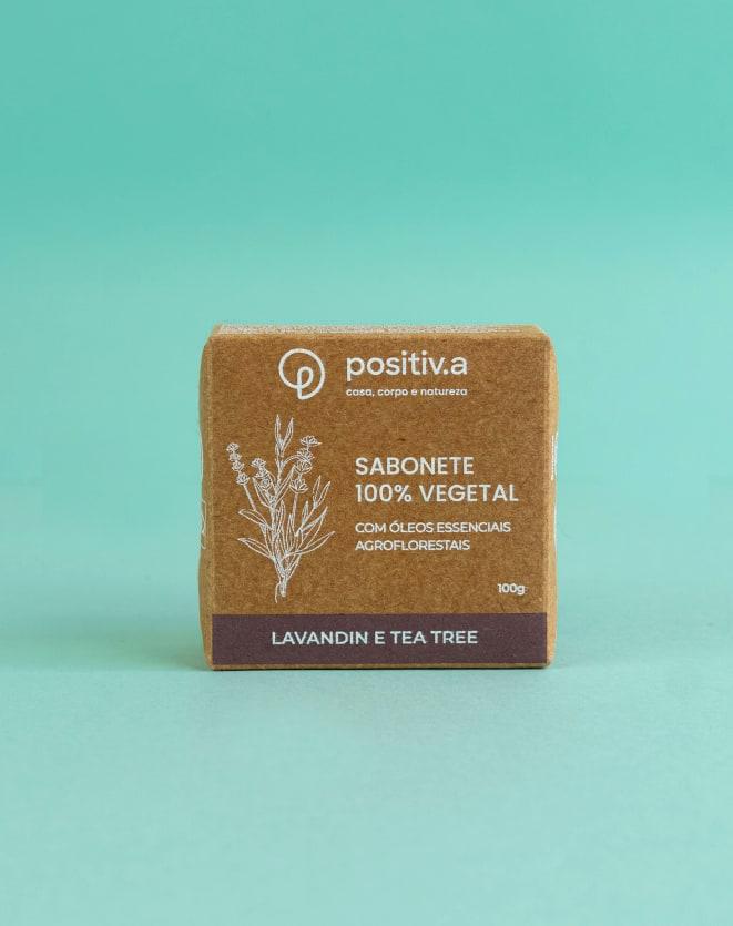 POSITIV.A SABONETE 100% VEGETAL - 100G