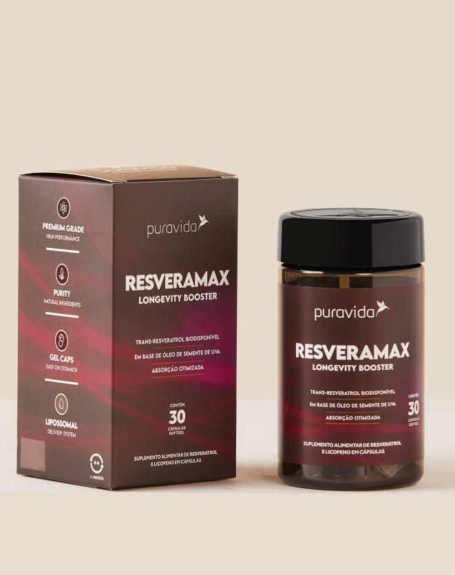 PURAVIDA RESVERAMAX - 30 CAPSULAS