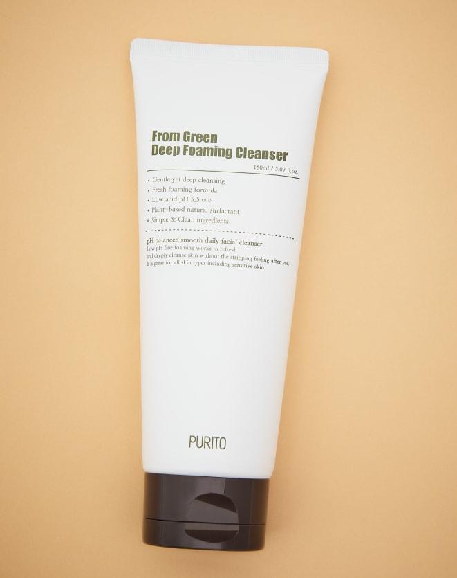 PURITO ESPUMA DE LIMPEZA FACIAL FROM GREEN DEEP FOAMING CLEANSER