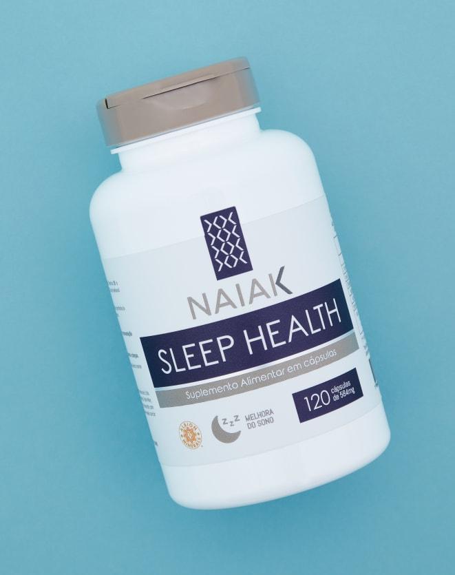 NAIAK SLEEP HEALTH - 120 CÁPS