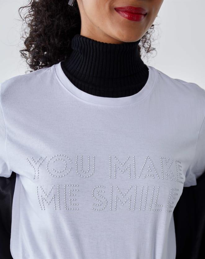T-SHIRT YOU MAKE ME SMILE