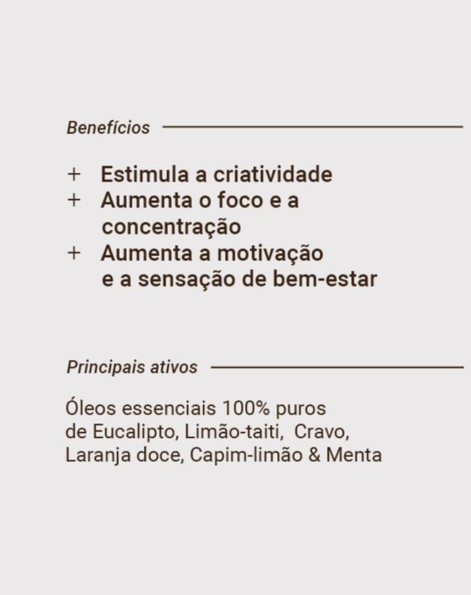 BEAUTS SPRAY DE AROMATERAPIA COM ÓLEOS ESSENCIAIS - 50ML