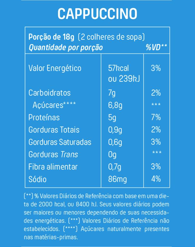 +MU CAPPUCINO (COM WHEY CANELA E PIMENTA) - 200G
