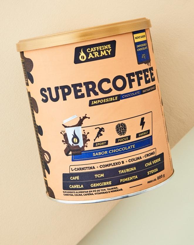 CAFFEINE ARMY SUPERCOFFEE CHOCOLATE - 220G
